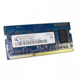 1Go RAM PC Portable QIMONDA IMSH1GS14A1F1C-10F PC3-8500U DDR3 1066MHz CL7