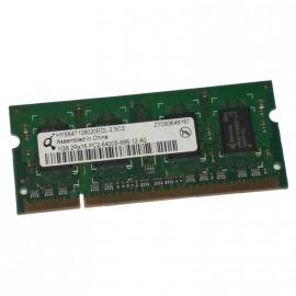 1Go RAM PC Portable QIMONDA HYS64T128020EDL-2.5C2 PC2-6400U DDR2 800MHz CL6