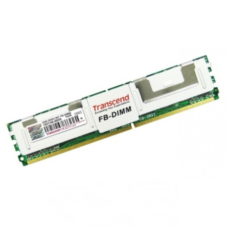 Ram TRANSCEND 1Go DDR2-667 PC2-5300F Fully Buffered ECC YX 509-505 FB-DIMM