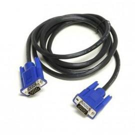 Câble VGA Moniteur Ecran Plat Vidéoprojecteur Pc Mac SVGA HD15 Male/Male 5m