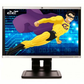 "Ecran PC Pro 22"" HP LA2205wg TFT TN VGA DVI Display VESA USB Widescreen"