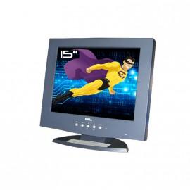 "Ecran PC 15"" DELL E151FP LCD TFT 15"" 1024x768 (XGA) VGA 75 hz DP/N 07k165"