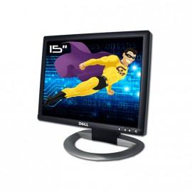 "Dell Ecran Plat 15"" 1505FP LCD TFT Vga DVI Pc USB Hub Rotate Rotation Détachable"