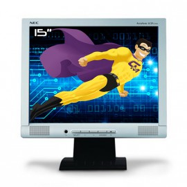 "Ecran PC Pro 15"" NEC AccuSync ASLCD52VM-BK LCD TFT VGA 1024x768 75Hz Inclinable"