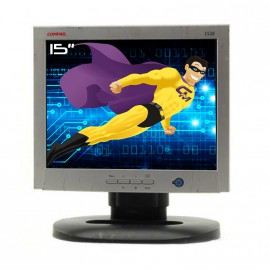 "Ecran PC Pro 15"" COMPAQ 1520 D5063 LCD TFT VGA DVI 1024x768 75Hz Inclinable"