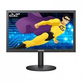 "Ecran PC Pro 22"" SAMSUNG B2240MW LCD TFT TN VGA DVI Jack Stereo VESA Widescreen"