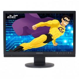 """Ecran PC Pro 22"""" SAMSUNG SMT-2231P LCD TFT VGA HDMI 2xVideo VESA Widescreen"""