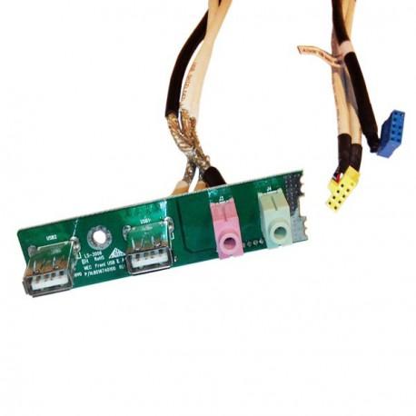 Front USB Audio Sirius NEC PowerMate VL370 Pico BTX 8016740100 E126126 E170689
