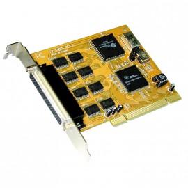 Carte adaptateur 8 Ports RS-232 8S Série EXSYS EX-41098 PCI 16C950