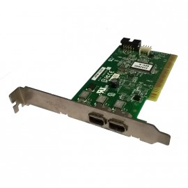 Carte PCI 2x Ports Firewire Adaptec AFW-2100 IEEE1394 0F4582 ASSY 2086506-02