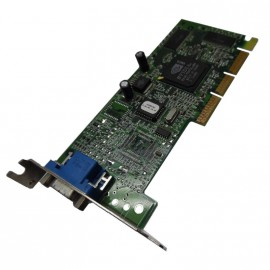 Carte Graphique IBM NVIDIA TNT2 M64 AGP VGA 16Mb FRU 25P4058 Low Profile