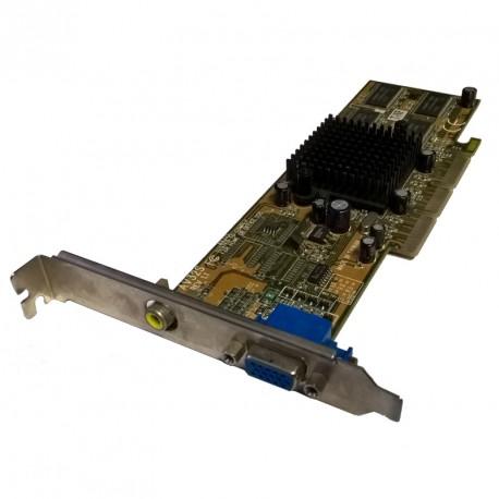 Carte Graphique GIGABYTE AV32S DDR 32Mo AGP 4X 1xVGA 1xRCA Passif