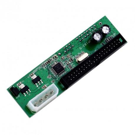 Carte Adaptateur IDE vers SATA JP103-5 Lecteur/Graveur Plug Play 7+15Pin 3.5 2.5