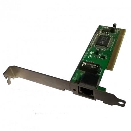 Carte Réseau M211065S6 NIC-R-105 890-00301671 10/100Mbps PCI 1x RJ45