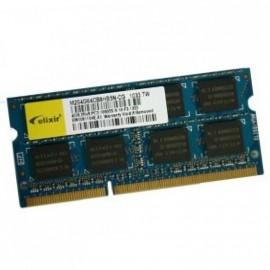 4Go RAM PC Portable SODIMM Elixir M2S4G64CB8HB5N-CG DDR3 PC3-10600S 1333MHz CL9