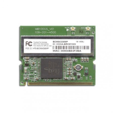 Carte Wifi Broadcom Mini PCI BCM94306MP MB100GS_V01 Pc Portable DELL Gateway