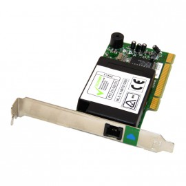 Carte Modem 56K DELL 0130NK V90 DATA FAX PCI Port Unique