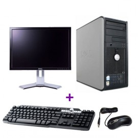Lot Tour Dell Optiplex GX620 Pentium D 2.8Ghz 2Go DDR2 2x 80Go XP Pro + Ecran 19