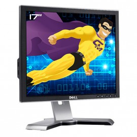 "Ecran Plat 17"" DELL 1708FPf /1708FPt VGA DVI Hub USB Rotation 90° Pied Pivotant"