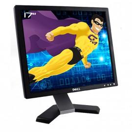 """Ecran Plat PC 17"""" DELL E178FPc LCD TFT 1280x1024 VGA Noir Pied Argenté"""