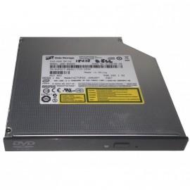 Lecteur DVD Slim Hitachi LG GDR-8084N IDE 24x CD 8x DVD Pc Portable Noir