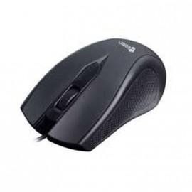 Souris USB Filaire Optique HEDEN KPC66USBCA Noire Grise 3 Boutons 800DPI PC Mac