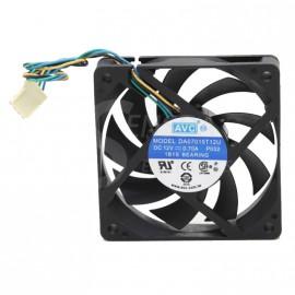 Ventilateur HP AVC DA07015T12U 70x70x15mm DC 12V 435499-001 390907-001 4-Pin