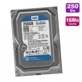 "Disque Dur 250Go SATA 3.5"" Western Digital CaviarBlue WD2500AAKX-75U6AA0 7200RPM"