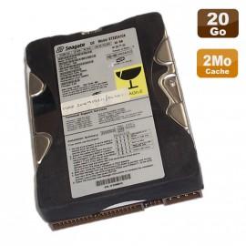 "Disque Dur 20Go 3.5"" IDE Seagate 40-Pin Ultra ATA 6 ST320410A 5400 RPM 2Mo"