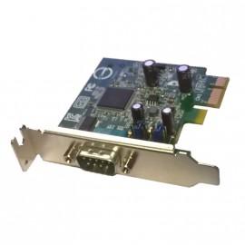 Carte PCI Série 1 Port RS232 DELL DPWC100 041D3K PCI-e Sans Câble Low Profile