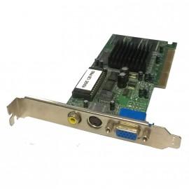 Carte Graphique ATI Rage 128 PRO Ultra 32MB SDR VO AGP VGA RCA S-Video Passif