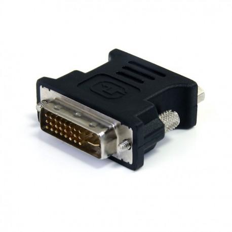 Adaptateur VGA Femelle vers DVI-I Mâle HDB15F Dual Link Ecran Pc MAC
