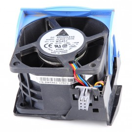 Ventilateur Dell 0W5451 0H2401 Case Fan Rack 4-Pin PowerEdge 2850 R510 R515
