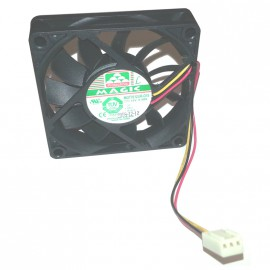 Ventilateur Protechnic MAGIC MGT7012UR-O15 DC 12V Fan 3-Pin 70x70x15mm Fil 13cm
