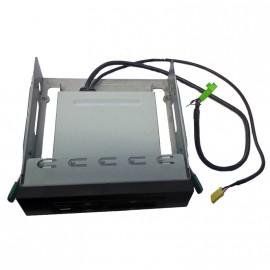 Lecteur de carte mémoire interne GC5280 façade Card Reader SDHC +Adaptateur 5.25