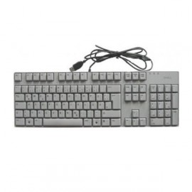 Clavier Azerty Usb DELL SK-8175T 0R431F Pc Keyboard Kb Slim Fin Optiplex Gx Gris