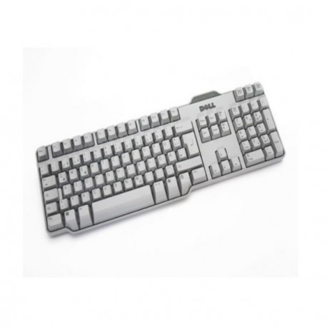 Mini Clavier Usb Pc Pro DELL Azerty SK-8115 RT7D50 Gris Fin Sff 0HK211 Keyboard