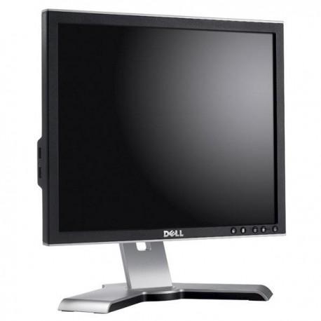 "Ecran Plat 17"" DELL 1707FPc /1707FPt VGA DVI Hub USB Rotation 90° Pied Pivotant"