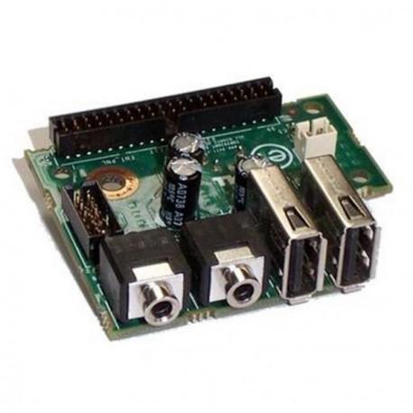 Carte Board Front Panel DELL Optiplex 755 760 780 SFF 0XW055 USB Audio & Micro
