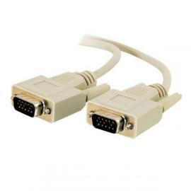 Câble VGA Ecran Moniteur Plat Tube Vidéoprojecteur Pc Mac Svga Male/Male 1,8m