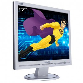 "Ecran PC Pro 17"" PHILIPS 170S HNS7170T LCD 1x VGA 1280x1024 VESA Widescreen"