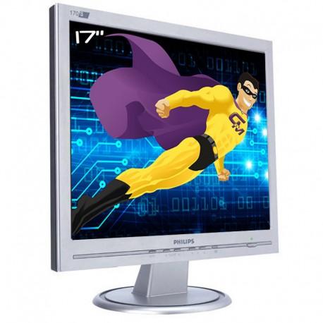 """Ecran PC Pro 17"""" PHILIPS 170S HNS7170T LCD 1x VGA 1280x1024 VESA Widescreen"""