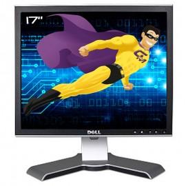 "Ecran Plat 17"" DELL 1707FPf 0C891H VGA DVI Hub 4x USB Rotation Pied Pivotant"