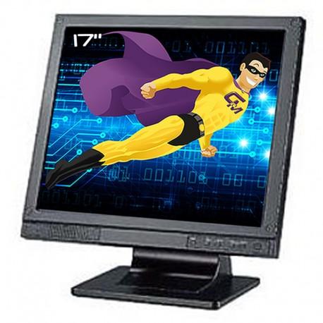 "Ecran PC Pro 17"" TVS LPL-17W01 LCD TFT VGA Audio DC S-Video BNC VESA Widescreen"