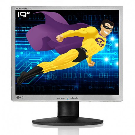 """Ecran Plat PC 19"""" LG L1942PE-SS L1942PEPEU LCD TFT TN DVI-D VGA VESA Widescreen"""