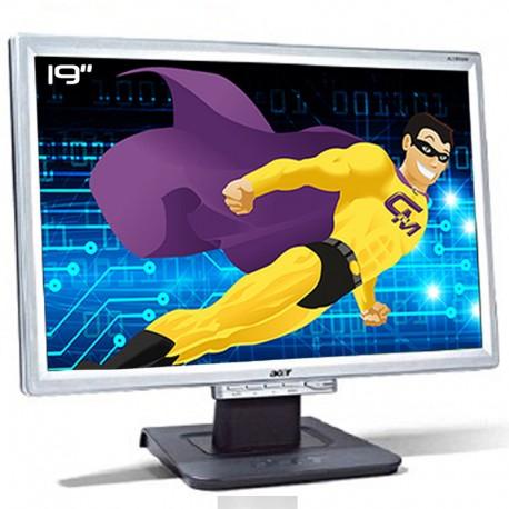 """Ecran Plat PC 19"""" ACER AL1916WAs ET.1916P.500 LCD TFT TN VGA VESA Widescreen"""