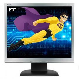 """Ecran Plat PC 19"""" NEC AccuSync LCD93V L195GY ASLCD93V-BK-1 LCD 1280x024 5:4 VGA"""