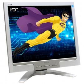 "Ecran PC Pro 19"" PHILIPS 190B7CS HNB7190T LCD TFT VGA DVI 1x USB Audio IN VESA"