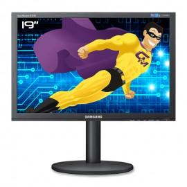 """Ecran PC Pro 19"""" SAMSUNG B1940W L819OBKAB/EN LCD TFT TN VGA DVI VESA WideScreen"""