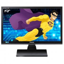 "Ecran PC Pro 19"" SAMSUNG SyncMaster SA200 S19A200NWT/EN LCD TFT TN VGA VESA Wide"